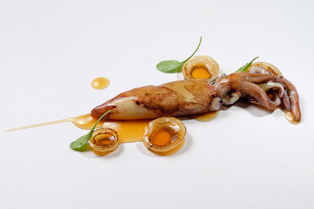 plato del Restaurante Maruja Limón (Vigo)