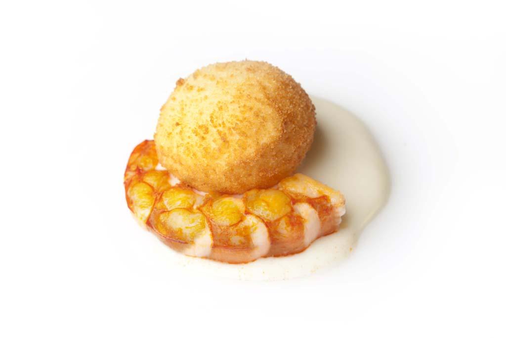 Huevo frito de otra manera, plato estrella del Restaurante Maruja Limón